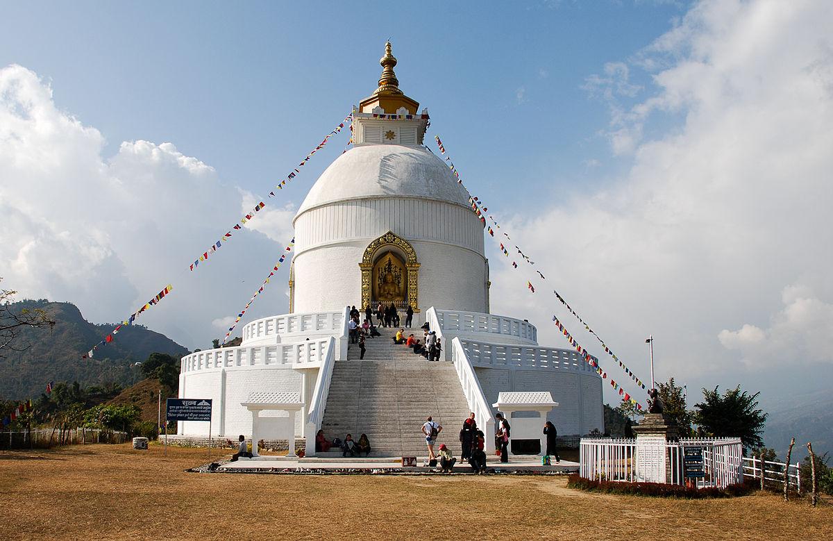 Shanti Stupa - Rajgir