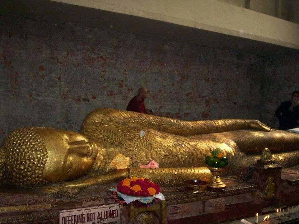 Parinirvana Stupa Kushinagar